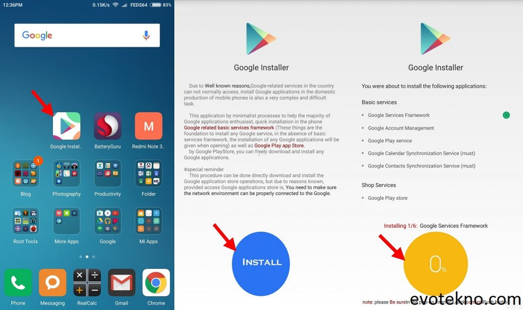 Xiaomi download play store