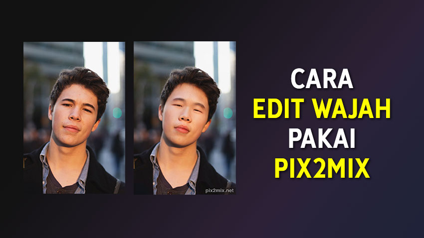 Cara Edit Wajah Seperti Orang Asia Afrika India Eropa Pakai Pix2mix Evotekno