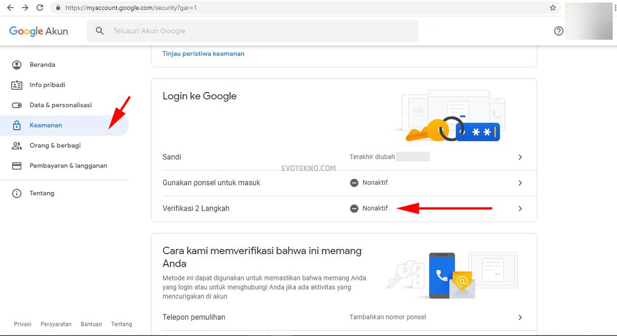 5 Cara Mengamankan Akun Google Gmail Youtube Google Drive Dll Evotekno