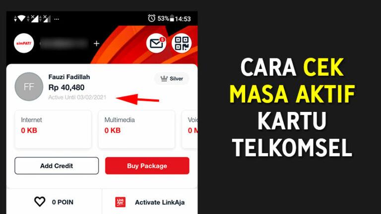 3+ Cara Cek Masa Aktif Kartu Telkomsel SimPATI, Kartu AS ...