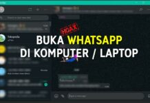 BUKA WHATSAPP di KOMPUTER - LAPTOP