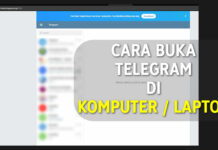 Cara Buka Telegram di Komputer Laptop