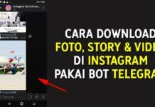 Cara Download Foto, Story dan Video di Instagram Pakai Bot Telegram