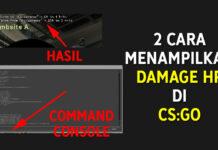 Cara Menampilkan HP Musuh di CSGO Damage Given Taken