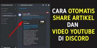 Cara Otomatis Share Artikel dan Video YouTube ke Discord