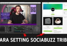 Cara Setting SociaBuzz Untuk Donasi dan Live Streaming
