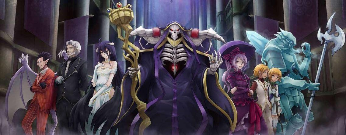 Overlord - Momonga with NPCs