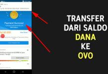 Cara Transfer Saldo DANA ke OVO