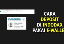 Cara Deposit di Indodax Pakai E-Wallet