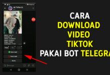 Cara Download Video TikTok Pakai Bot Telegram