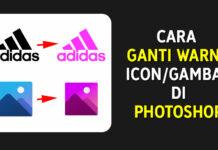 Cara Ganti Warna Pada Icon atau Gambar di Photoshop