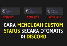 Cara Mengubah Custom Status Secara Otomatis di Discord