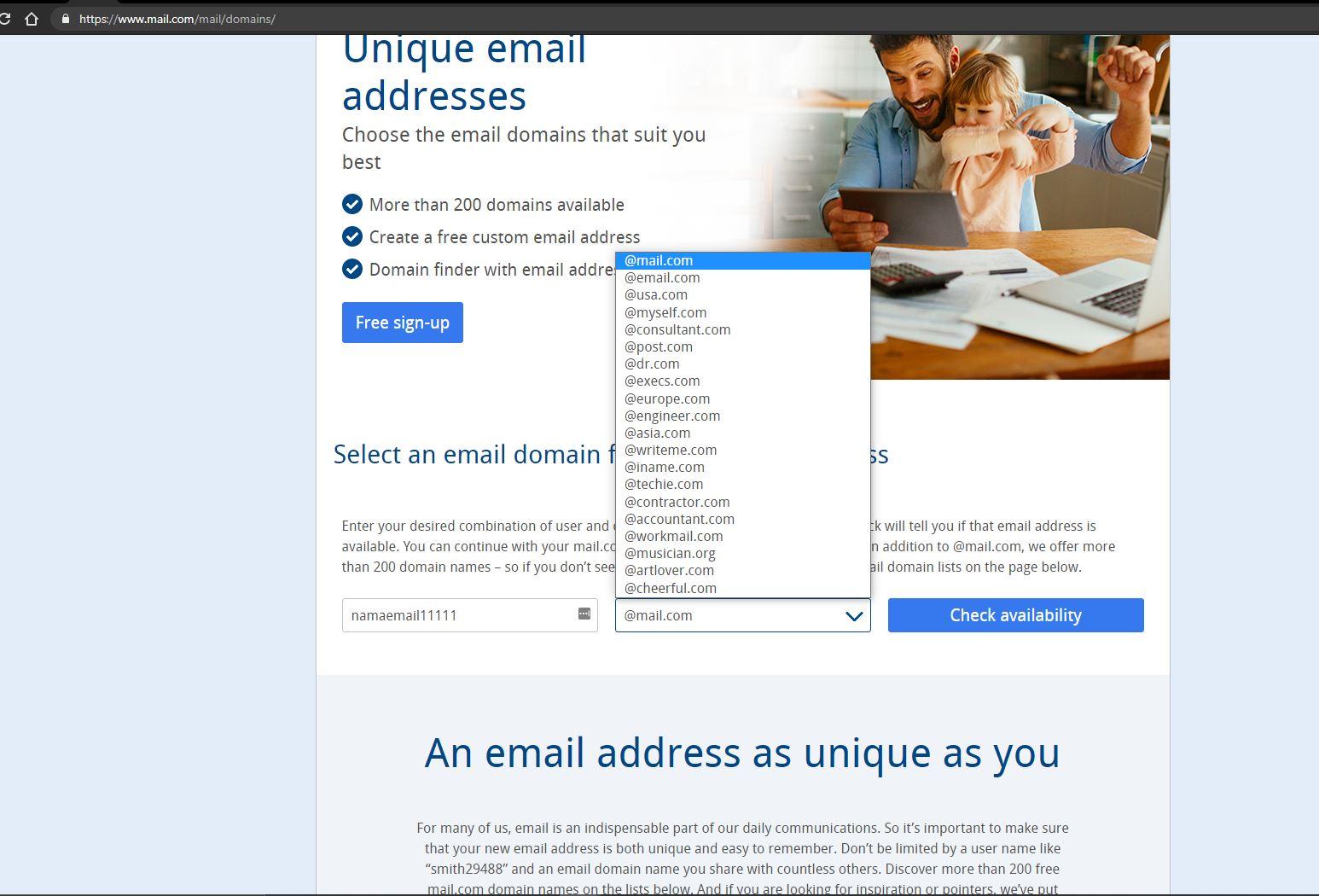 Halaman mail.com - evotekno