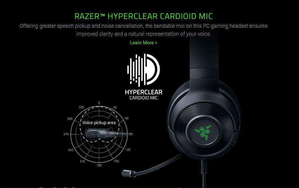 RAZER HYPERCLEAR CARDIOID MIC