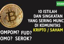 10+ Istilah & Singkatan 'FOMO, Serok dll' Yang Sering Muncul di Komunitas Crypto Saham