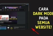 Cara Dark Mode Pada Semua Website