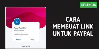 Cara Membuat Link Untuk PayPal