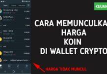 Cara Mengatasi Harga Koin Micin Tidak Muncul di Wallet Kripto