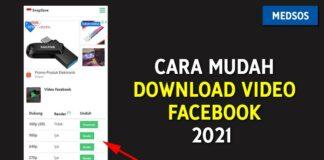 Cara Menggunakan SnapSave Untuk Download Video Facebook 2021