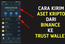 Cara Transfer BNB dari Binance ke Trust Wallet