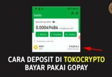Cara Deposit di Tokocrypto Bayar Pakai GoPay