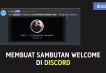 Cara Membuat Sambutan Welcome Good Bye ke Member Baru di Discord