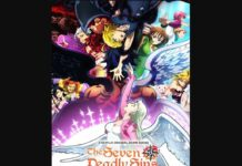 Poster The Seven Deadly Sins Season 4 yang tayang di Netflix