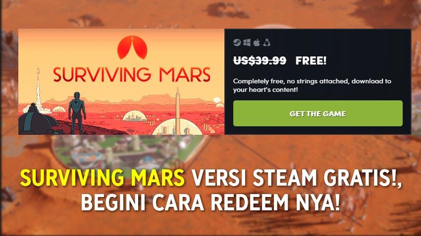 Surviving Mars Deluxe Edition Gratis di Humble Bundle