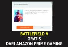 Battlefield V Gratis dari Amazon Prime Gaming