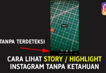 Cara lihat story dan highlight instagram tanpa ketahuan