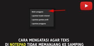 Cara Blokir Channel YouTube Orang (Komentar Yang Mengganggu)