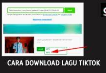 Cara Download Lagu di TikTok