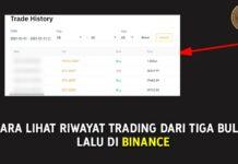 Cara lihat riwayat trading dari tiga bulan yang lalu di Binance