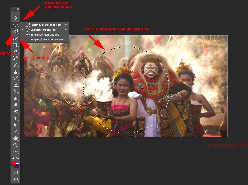 Maque Tool - Select - Adobe Photoshop