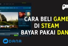 Cara Beli Game di Steam Bayar Pakai DANA (E-wallet)! Beli Game New World