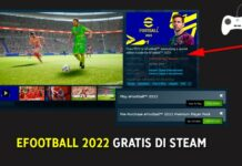 eFootball 2022 Gratis di Steam